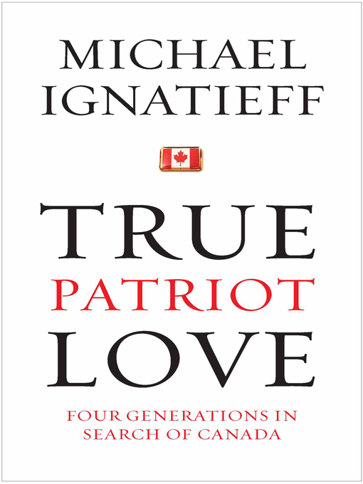 Cover of True Patriot Love