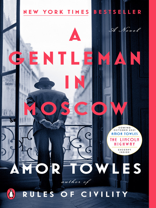 Title details for A Gentleman in Moscow by Amor Towles - Available