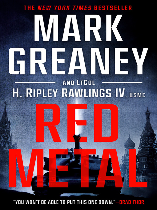 Title details for Red Metal by Mark Greaney - Wait list