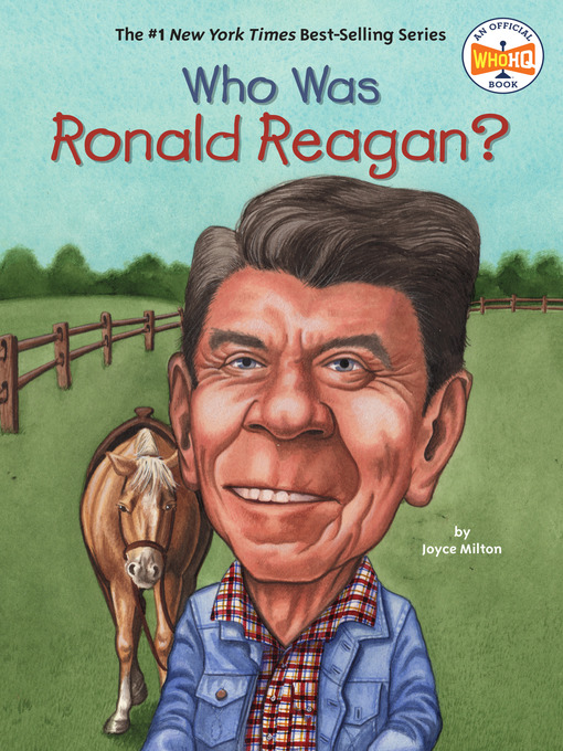 Title details for Who Was Ronald Reagan? by Joyce Milton - Wait list