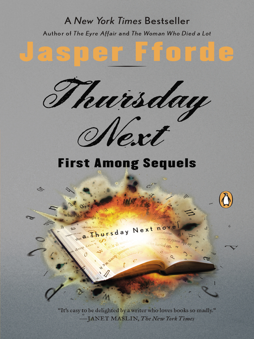 Title details for First Among Sequels by Jasper Fforde - Wait list