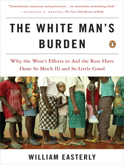 Cover of The White Man's Burden
