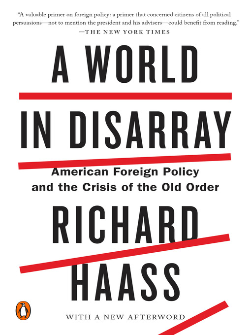 Title details for A World in Disarray by Richard Haass - Wait list