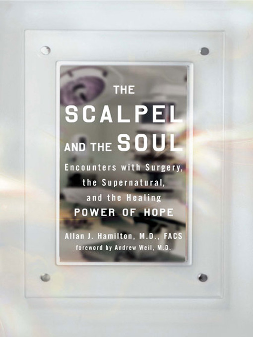 Title details for The Scalpel and the Soul by Allan J. Hamilton, MD, FACS - Available