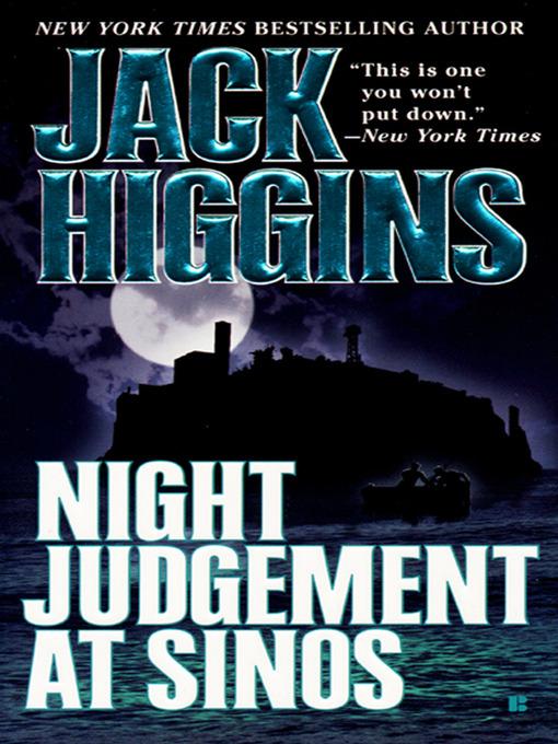 Title details for Night Judgement at Sinos by Jack Higgins - Wait list