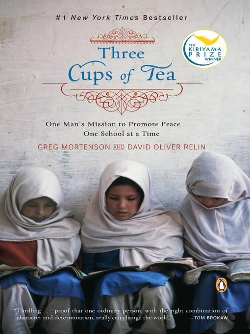 Title details for Three Cups of Tea by Greg Mortenson - Wait list