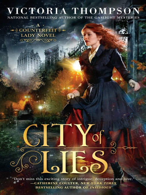 Title details for City of Lies by Victoria Thompson - Wait list