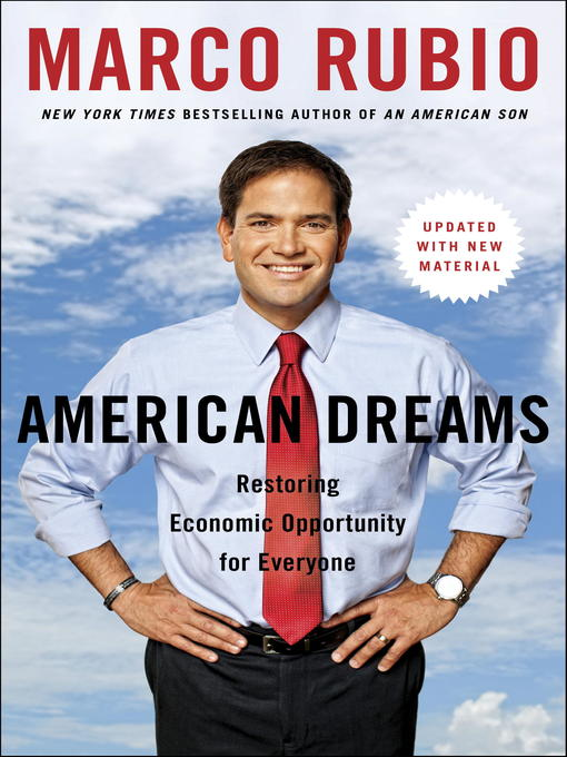 Title details for American Dreams by Marco Rubio - Available