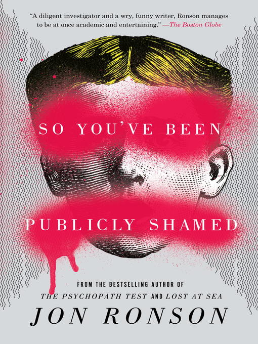 Cover of So You've Been Publicly Shamed