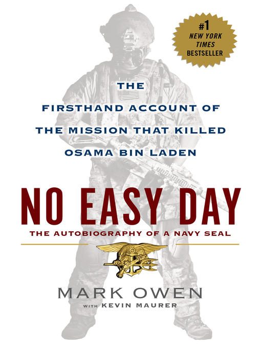 Title details for No Easy Day by Mark Owen - Wait list