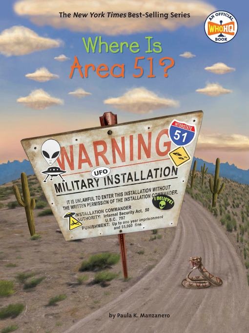 Title details for Where Is Area 51? by Paula K. Manzanero - Wait list