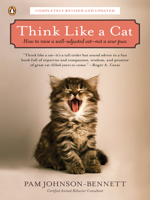 Title details for Think Like a Cat by Pam Johnson-Bennett - Wait list