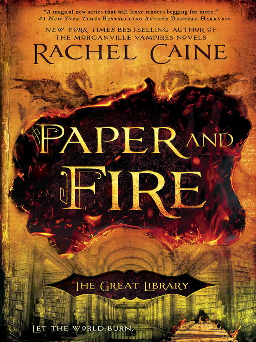 Title details for Paper and Fire by Rachel Caine - Wait list