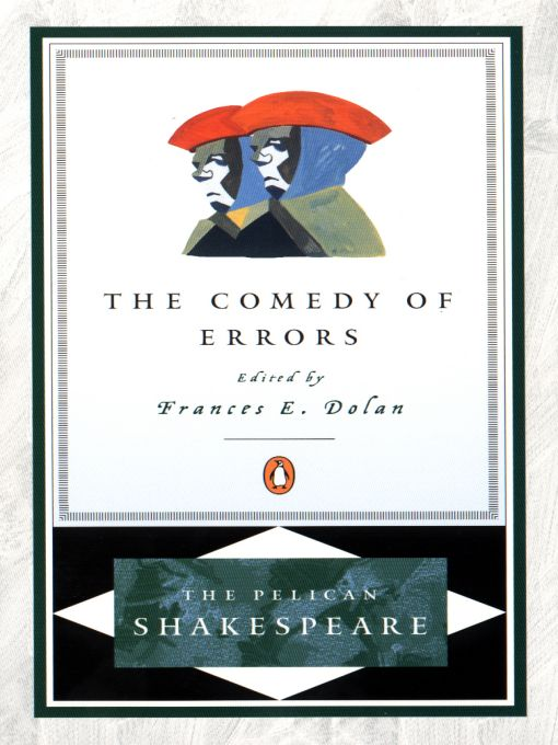 Title details for The Comedy of Errors by William Shakespeare - Available