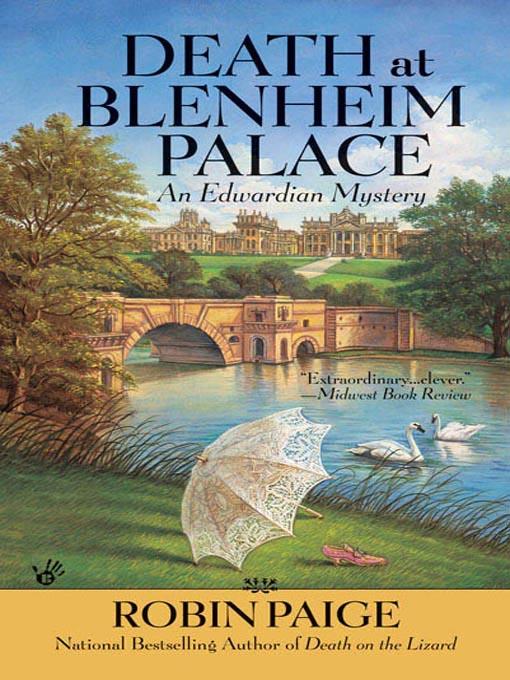 Title details for Death at Blenheim Palace by Robin Paige - Wait list