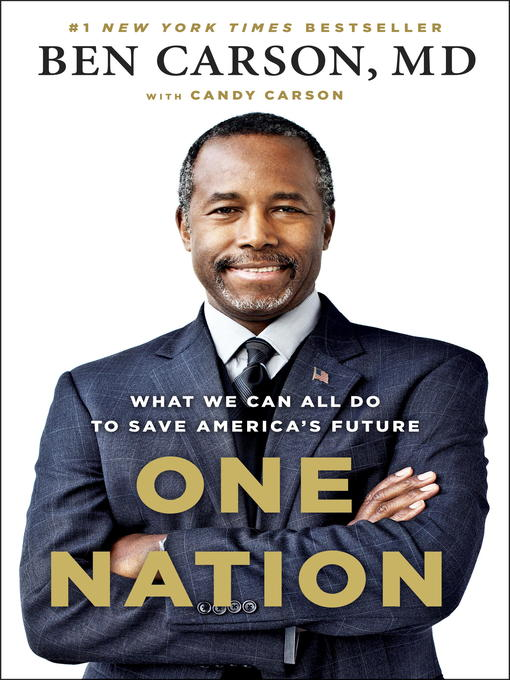 Title details for One Nation by Ben Carson, MD - Wait list