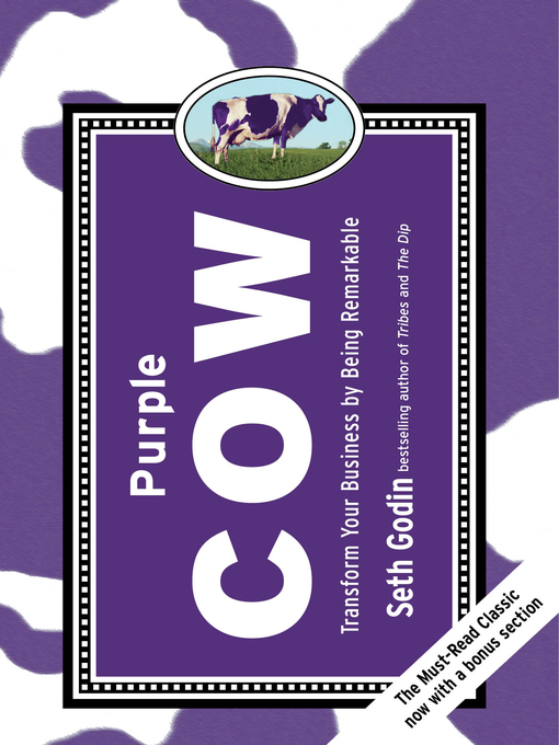 Title details for Purple Cow by Seth Godin - Wait list