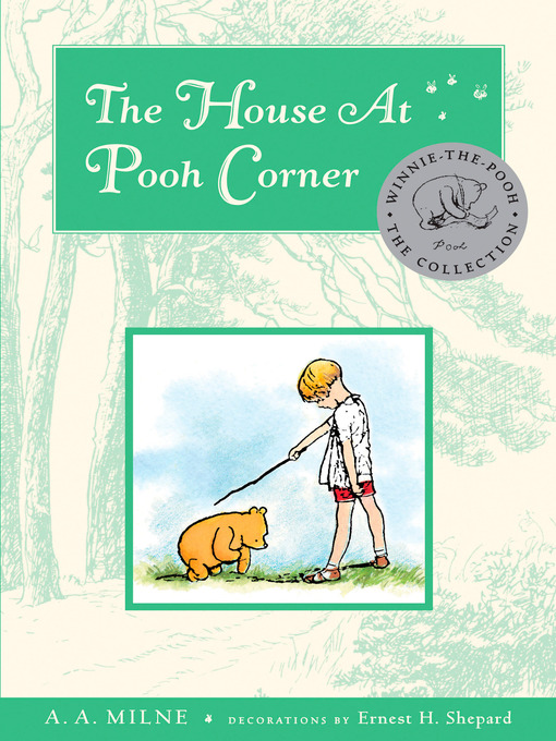 Cover of The House at Pooh Corner