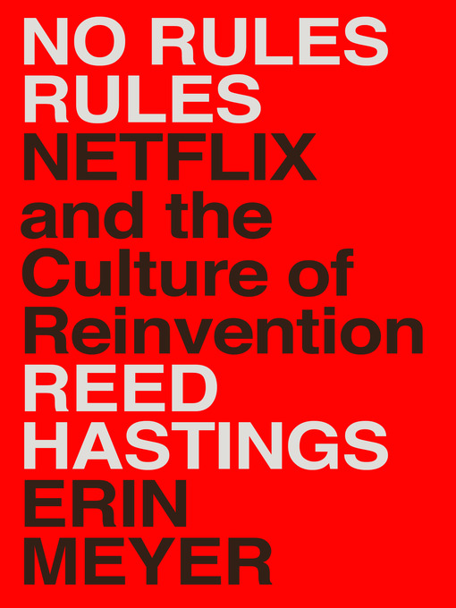 Title details for No Rules Rules by Reed Hastings - Wait list