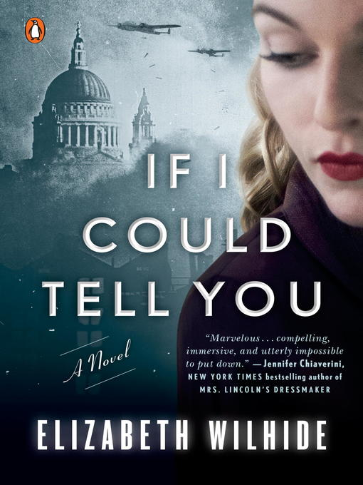 Title details for If I Could Tell You by Elizabeth Wilhide - Wait list