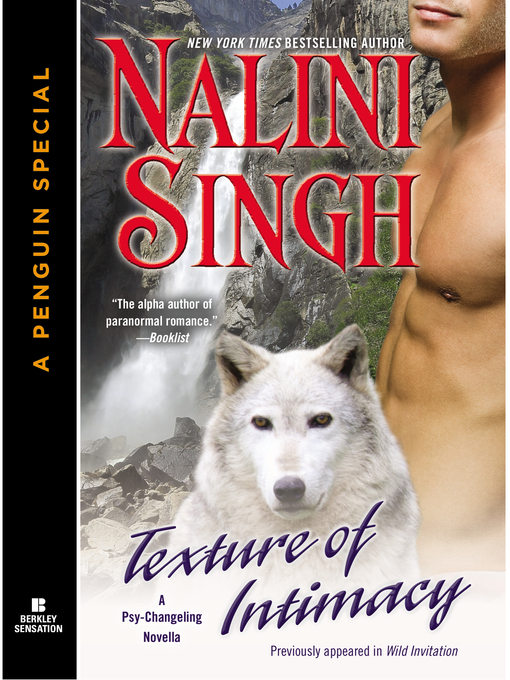 Title details for Texture of Intimacy by Nalini Singh - Wait list