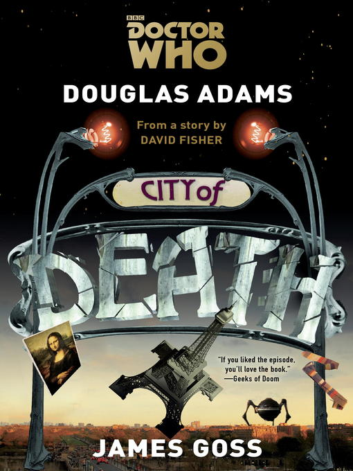 Title details for Doctor Who--City of Death by Douglas Adams - Available