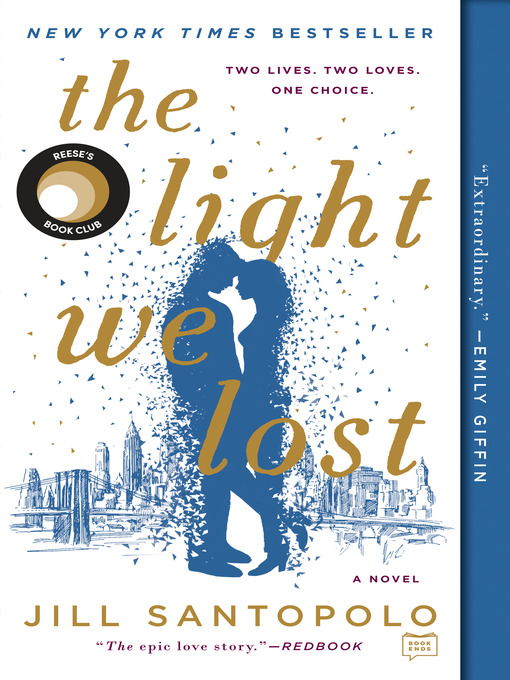 books cover of the light we lost by jill santopolo
