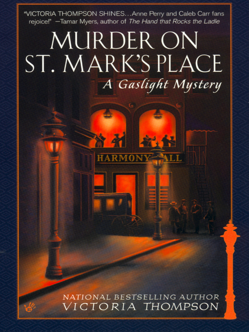 Cover of Murder on St. Mark's Place