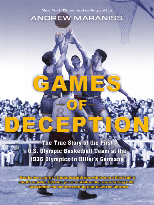 Title details for Games of Deception by Andrew Maraniss - Wait list