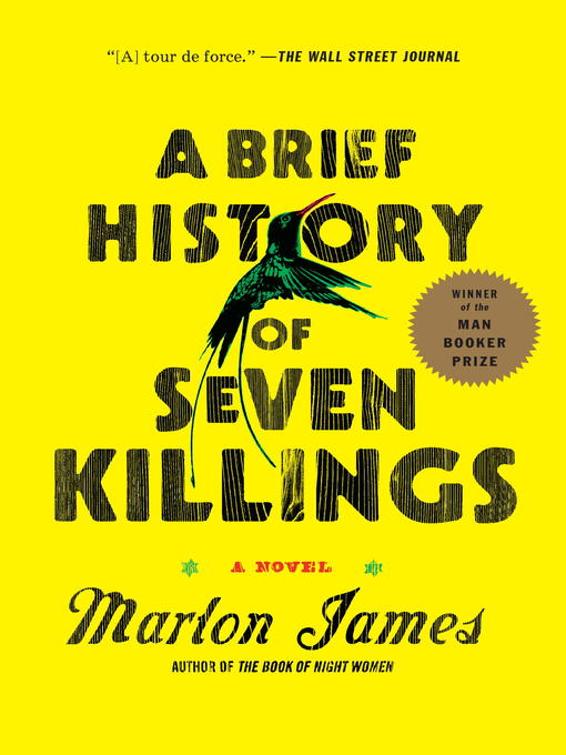 Title details for A Brief History of Seven Killings by Marlon James - Wait list