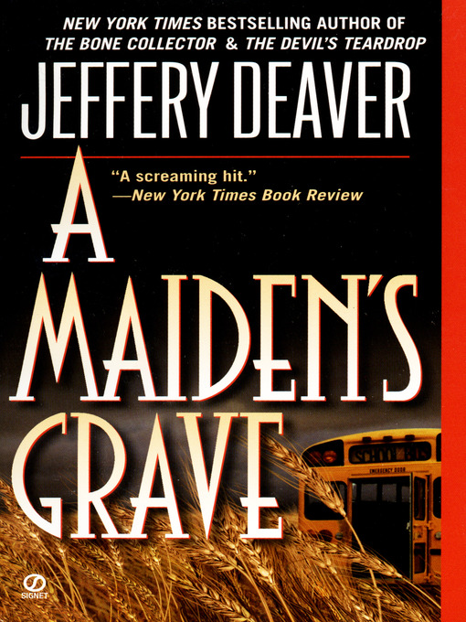 Title details for A Maiden's Grave by Jeffery Deaver - Wait list
