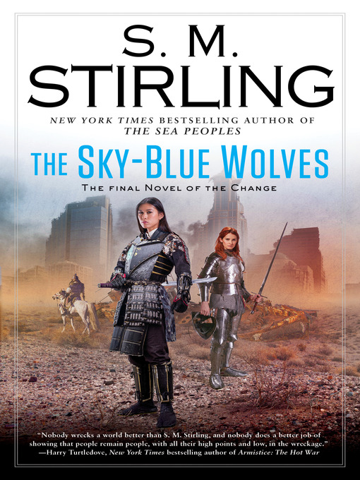 Cover of The Sky-Blue Wolves