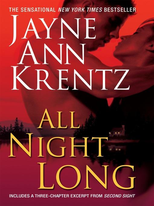 Title details for All Night Long by Jayne Ann Krentz - Wait list