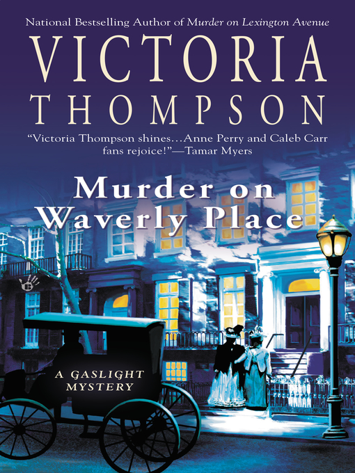 Cover of Murder on Waverly Place