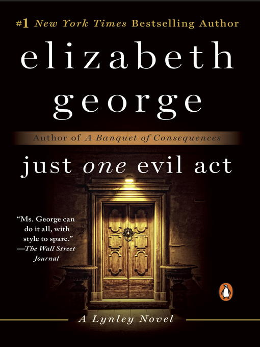 Title details for Just One Evil Act by Elizabeth George - Wait list