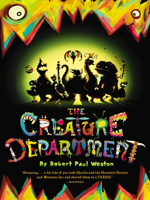 Cover of The Creature Department Series, Book 1