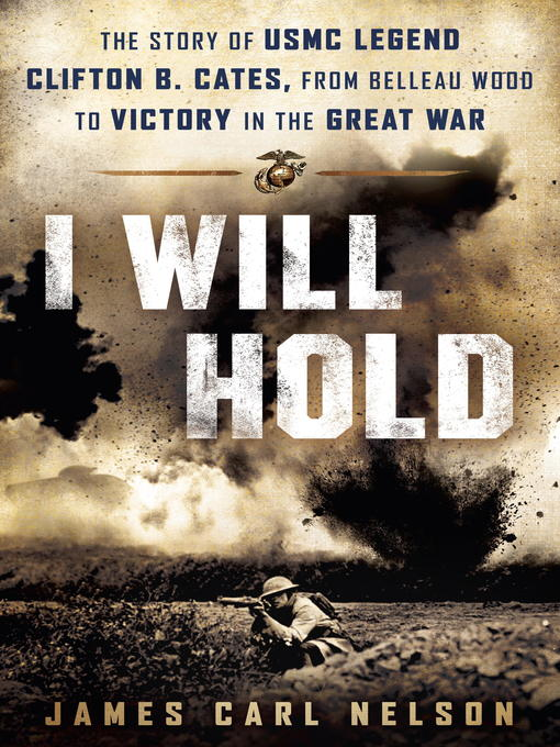 Title details for I Will Hold by James Carl Nelson - Available