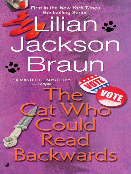 Title details for The Cat Who Could Read Backwards by Lilian Jackson Braun - Wait list