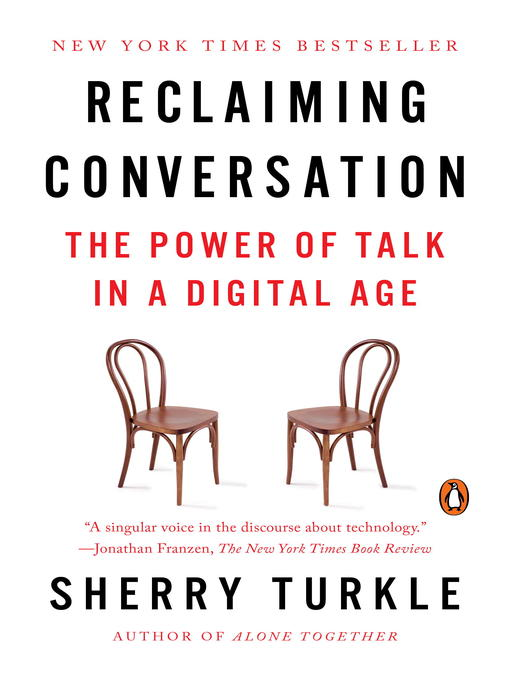 Cover of Reclaiming Conversation