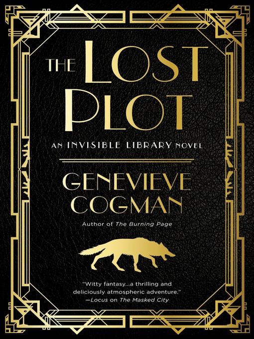 Title details for The Lost Plot by Genevieve Cogman - Wait list