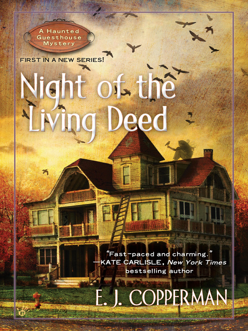 Title details for Night of the Living Deed by E.J. Copperman - Wait list