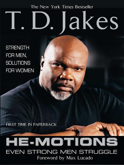 Title details for He-Motions by T. D. Jakes - Wait list