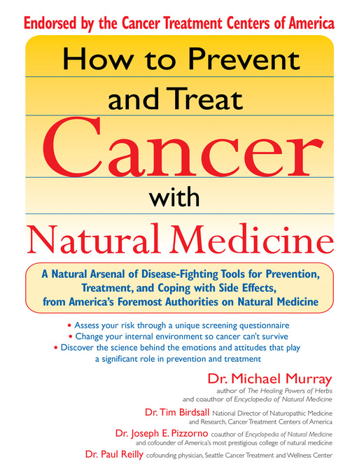 Title details for How to Prevent and Treat Cancer with Natural Medincine by Michael Murray - Available