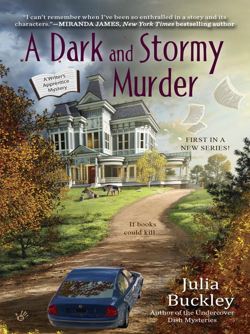 Title details for A Dark and Stormy Murder by Julia Buckley - Available