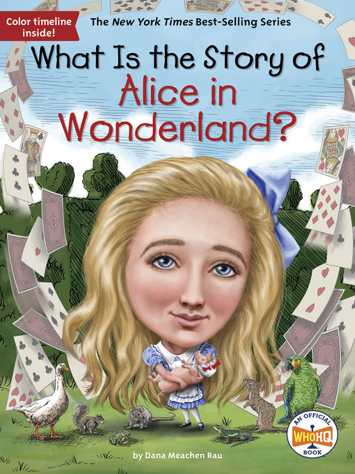 Title details for What Is the Story of Alice in Wonderland? by Dana M. Rau - Wait list