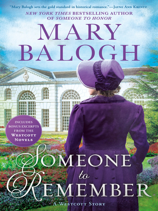 Title details for Someone to Remember by Mary Balogh - Wait list