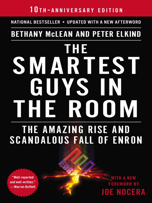 The Smartest Guys in the Room の表紙