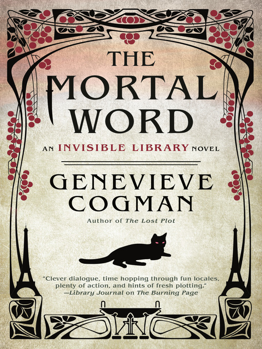 Title details for The Mortal Word by Genevieve Cogman - Available