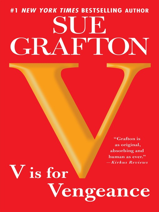 "Title details for ""V"" is for Vengeance by Sue Grafton - Wait list"