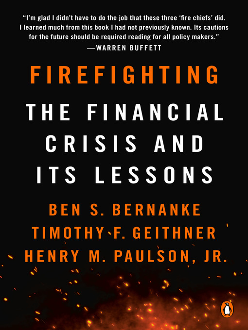 Title details for Firefighting by Ben S. Bernanke - Wait list